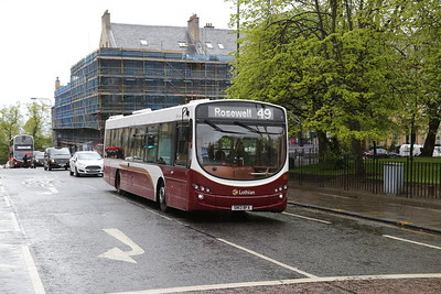 181 at St Andrew Square as a result of the closure of Leith Street