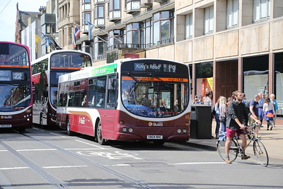 349 creeps up on 112 on a weekday 19 - rare...