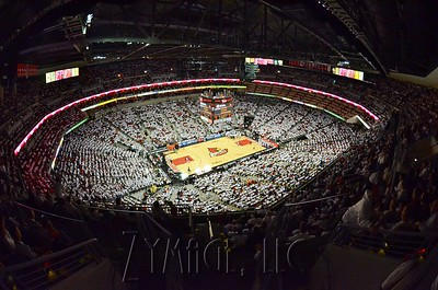 Louisville vs. Syracuse from the upper level.