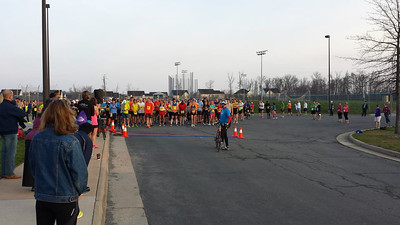 Loudoun Half Marathon & 8K.  Ashburn Virginia, April 13, 2014. Shared Photos