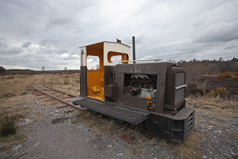 An Old Bog Train