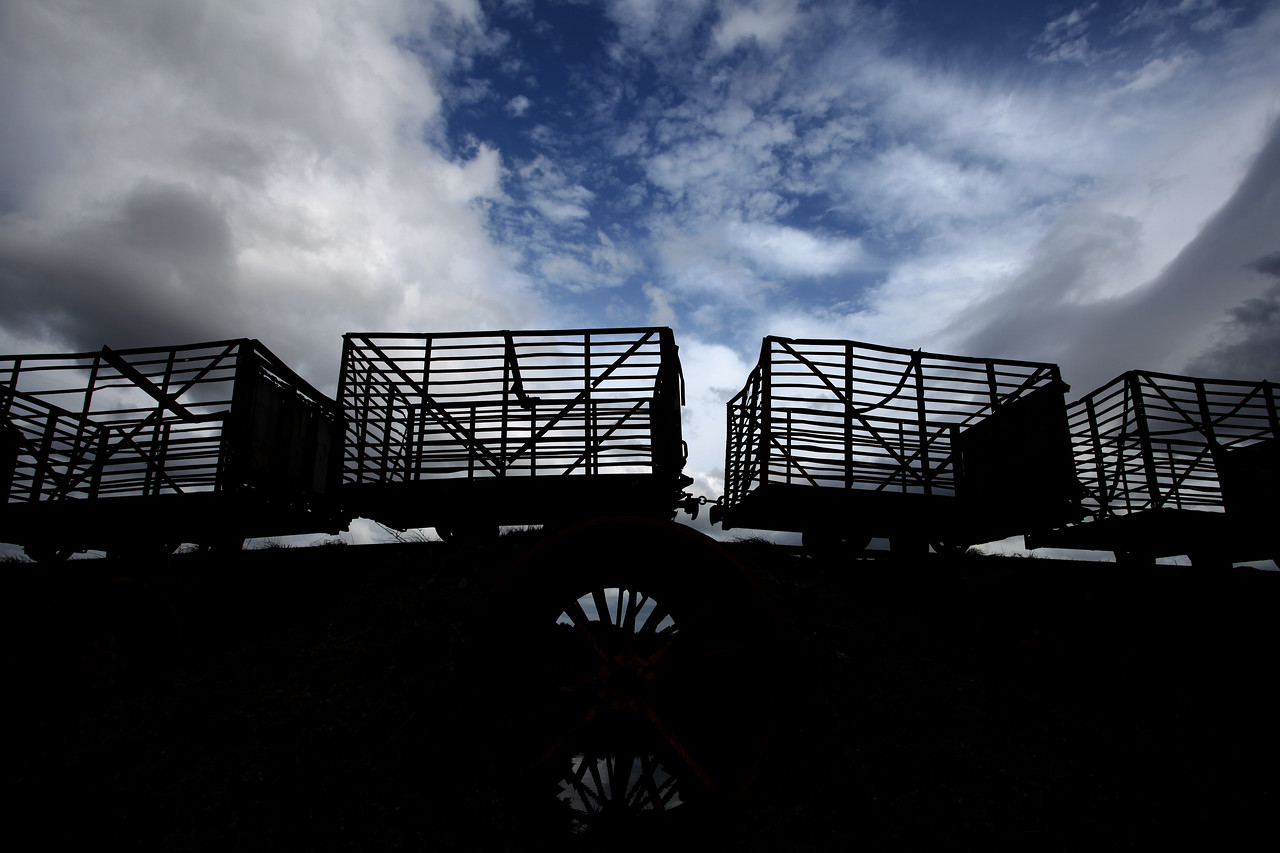 'Sky-train' at Lough Boora
