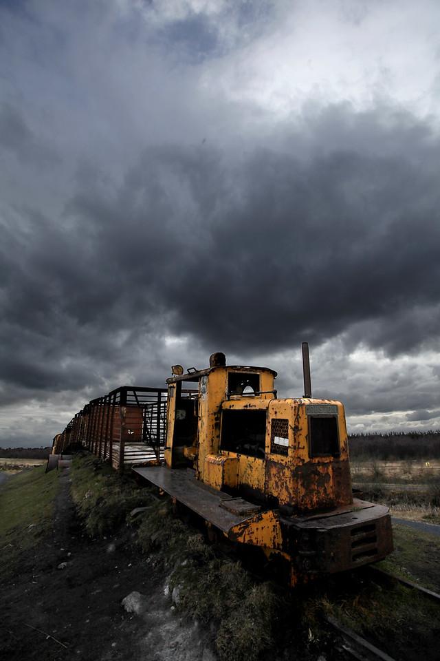 'Sky Train'  Lough Boora