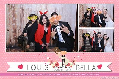Louis & Bella - Wedding Photobooth - Chụp ảnh lấy li�n Tiệc Cưới