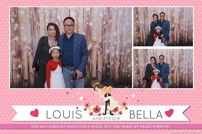 Louis & Bella - Wedding Photobooth - Chụp ảnh lấy liền Tiệc Cưới