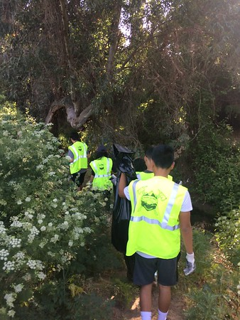 Louis Robidoux Earth Day Trails Clean Up