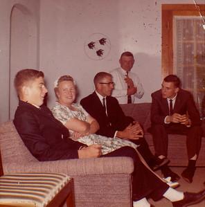 Lloyd, Edna, LaVerne, Don Mayer & Lynn Mayer