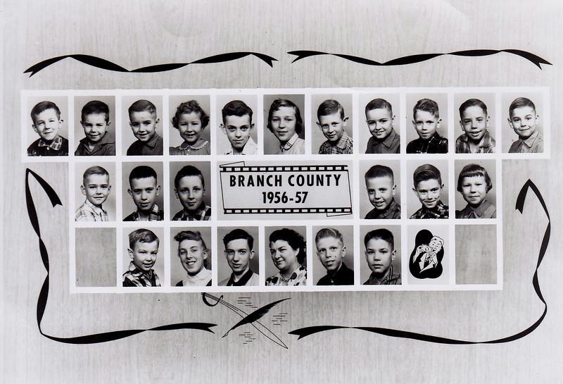 Class of 1956-1957  Union School