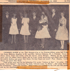 Home Coming 1962 Louise on end
