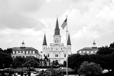 New Orleans4  St Louis Cathedral