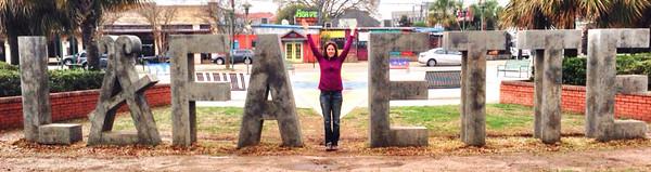 """The """"Y"""" Lafayette Sign, in Lafayette, Louisiana"""