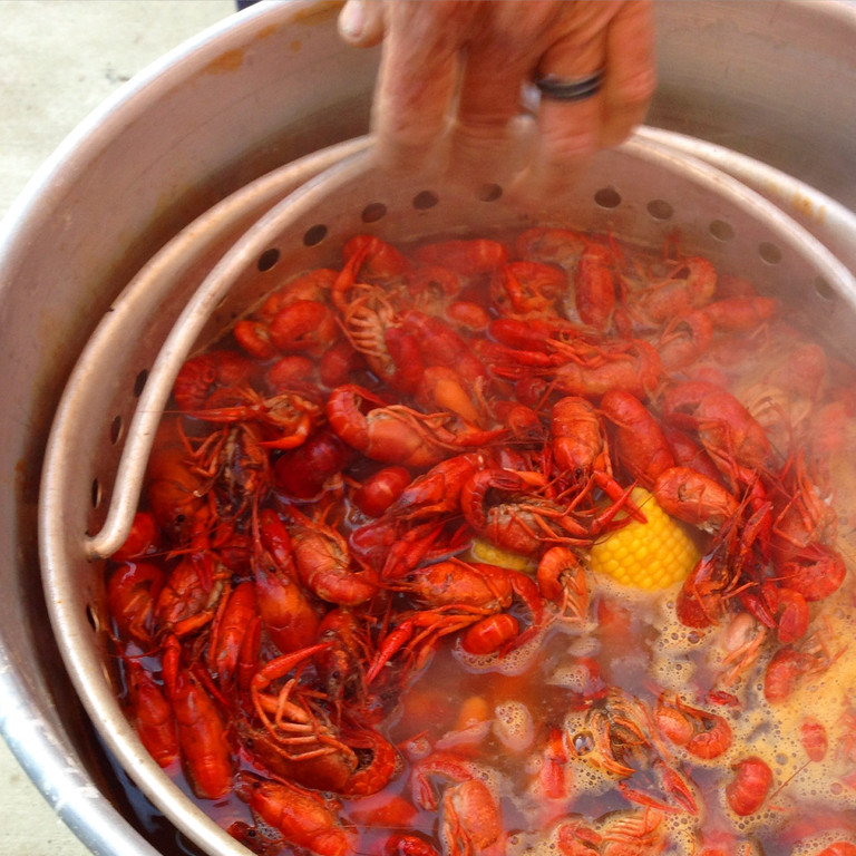A Southern Louisiana crawfish boil recipe