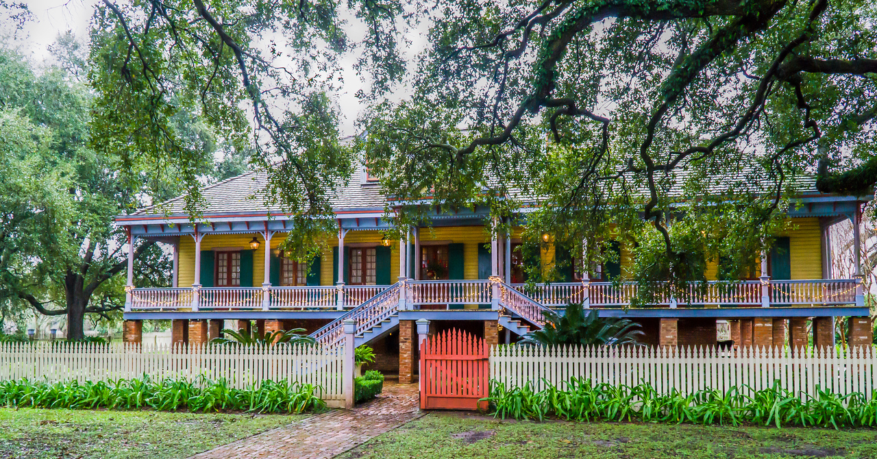 The Laura Plantation was built in 1805 and was run as a sugarcane plantation for around 180 years.