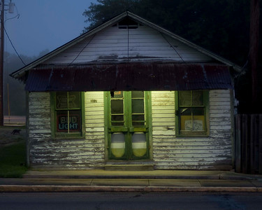 Old beer joint in Breaux Bridge, Louisiana