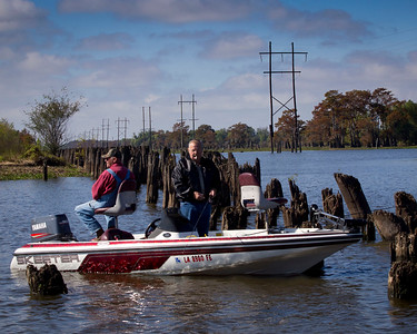 November 2011 Louisiana's Atchafalaya Basin........ Fishing for some Crappie!