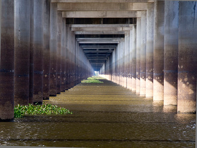 November 2011 Louisiana's Atchafalaya Basin........ Interstate 10 Bridge over the basin....