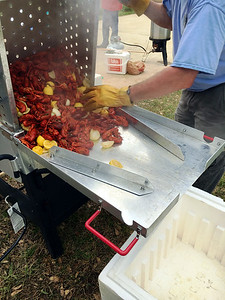 Cheri's 30th Birthday Craw Fish Boil