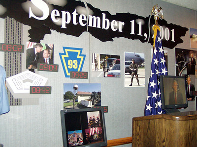 14  President Bush Flew to Barksdale AFB and spoke to country from here on September 11,  2001