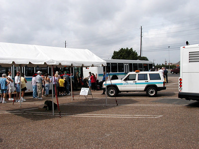 Barksdale Open House and Air Show Shuttle