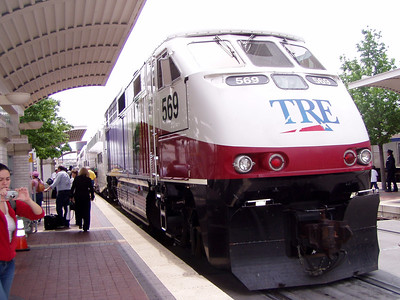 Commuter Train to Fort Worth
