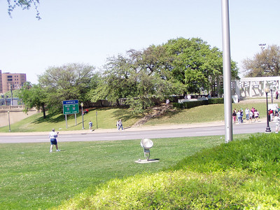 Area Where Kennedy Was Shot