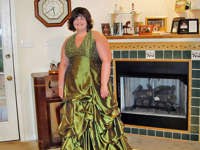 Great niece Jessica before the Mardi Gras Ball