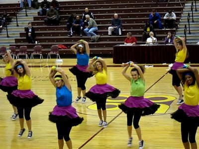 My great niece Kellie danced with the Haughton High School High Steppers at the Bossier Parish Community College basketball game.  MINI MOVIE