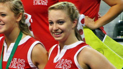 Kellie's Haughton High School Cheer Clinic June 13, 2012