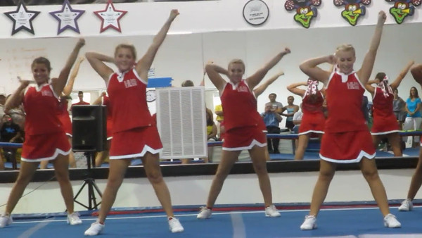 Kellie's Haughton High School Cheer Clinic June 13, 2012 Mini Movie