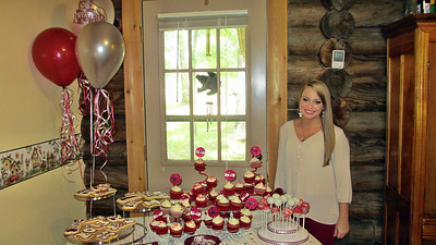 May 2013 - Great Niece Kellie Abbot Haughton High School Graduation and Party in Louisiana