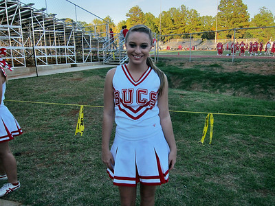 October 2011 Trip To Louisiana - Kellie is Cheerleader at Haughton High School