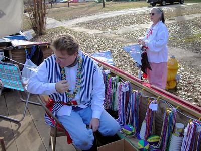 Minden Mardi Gras 2007 09 Wayne, Shirley