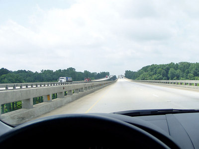 12  Crossing Tennessee River in Alabama