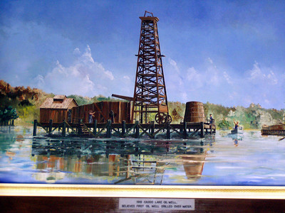 12  Caddo Lake Oil Well