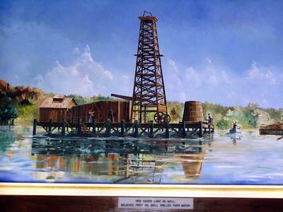 12  Caddo Lake Oil Well