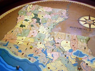 10  Louisianaa State Museum - State Map