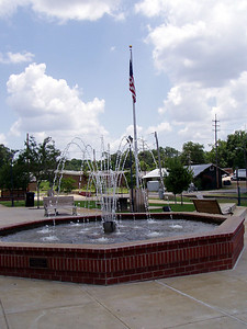 Ruston, LA Railroad Park Fountain