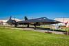 """Barksdale AFB Museum - Lockheed SR-71A """"Blackbird"""""""