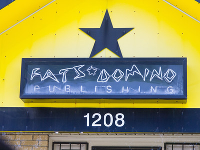 Fats Domino was trapped in the attic of his house and had to be evacuated.