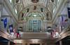 The Saint Louis Cathedral church organ in New Orleans, Louisiana, USA.