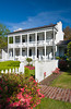 The Nottoway Plantation home on the Mississippi river, Louisiana, USA, America