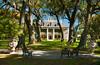 The Houmas House on the Mississippi river near Burnside, Louisiana, USA, America.