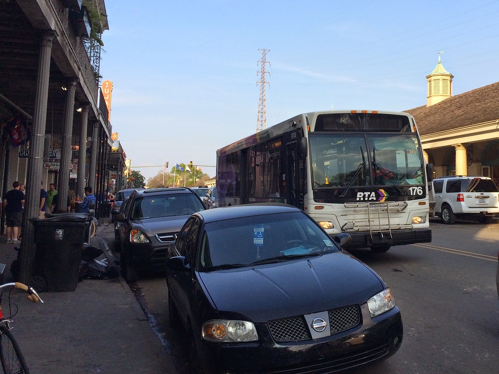 New Orleans RTA bus