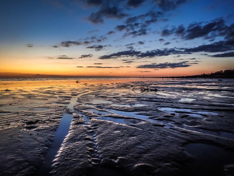 Dry Lake Sunset