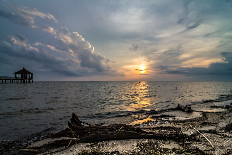 Cloudy Days Sunset