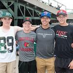 Jack Hawkins, Cheyne Fischer, Alex Orenczuk and Brady St. Denis.