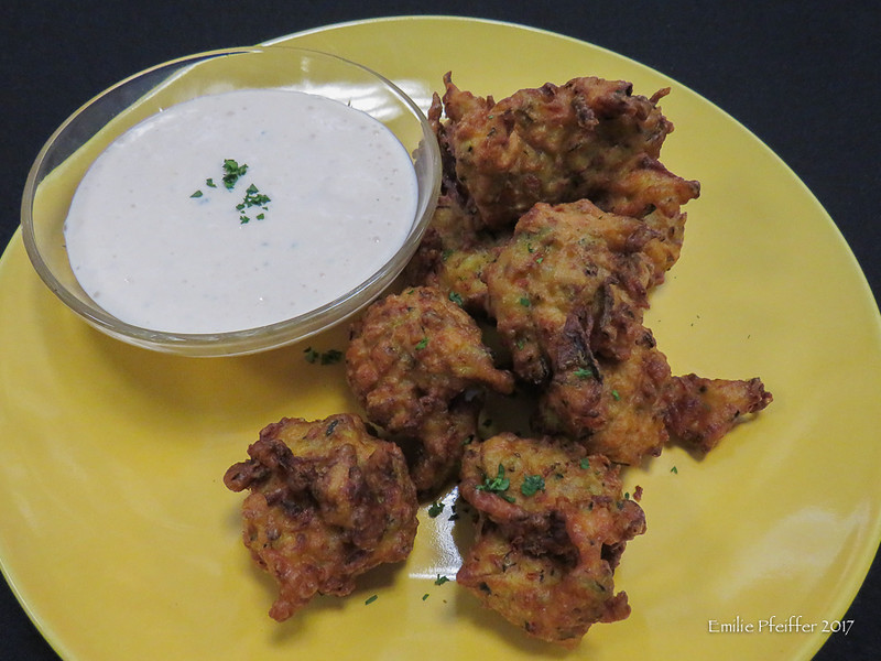 Fried Zucchini with Dipping Sauce