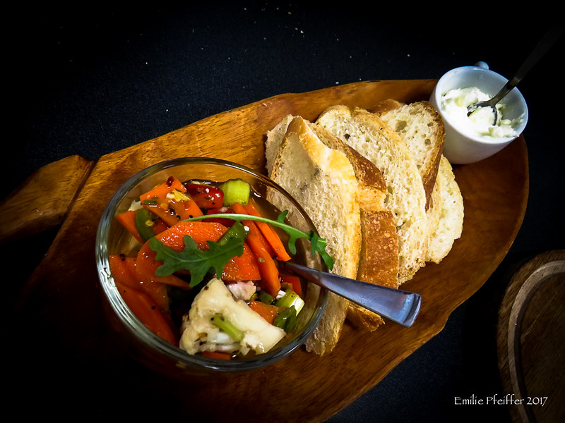 Pickled Vegetables with Bristol Bread