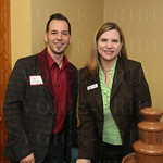 David Frick and Delene Taylor with DMLO  CPA.