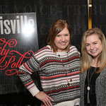 Stacey Griffin Hallahan and Kelsi Garson with Louisville Magazine.
